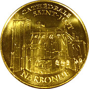 Monnaie de Paris - Cathédrale Saint-Just - Narbonne – obverse
