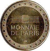 Monnaie de Paris - Centre Pompidou – reverse