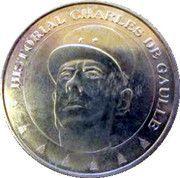 Monnaie de Paris - Charles De Gaulle – obverse