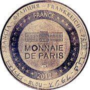 Monnaie de Paris - Château de Beynac – reverse