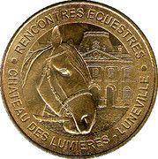 Monnaie de Paris - Château des lumières Lunéville – obverse