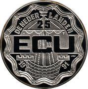 25 ECU (75e int. vierdaagse Nijmegen) -  obverse