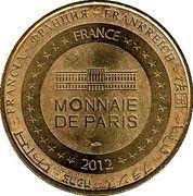 Monnaie de Paris - Château des lumières Lunéville – reverse