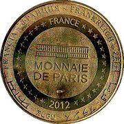 Monnaie de Paris - Cherbourg (La Cité de la Mer - Le Titanic) – reverse