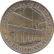 Monnaie de Paris - Cloitre de le Cathedrale - Le Puy en Velay – obverse