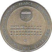 Monnaie de Paris - Cloitre de le Cathedrale - Le Puy en Velay – reverse