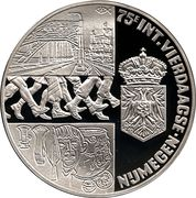 25 ECU (75e int. vierdaagse Nijmegen) -  reverse