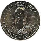 Monnaie de Paris Tourist Token - Musée du Louvre (La Joconde) – obverse