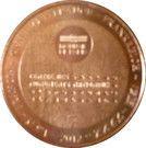 Monnaie de Paris Tourist Token - Le Panthéon – reverse