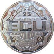 25 ECU - Beatrix (Jan A. Leeghwater) -  obverse