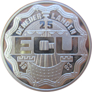 25 ECU - Beatrix (Maastricht) – obverse