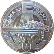 25 ECU - Beatrix (Maastricht) -  reverse