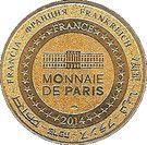 Monnaie de Paris Tourist Token - Puy du Fou (Les 4 combattants) – reverse