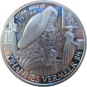 25 ECU - Beatrix (Johannes Vermeer) – reverse