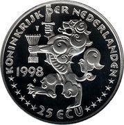 25 ECU - Beatrix (Willem Drees) -  obverse