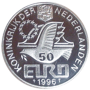 50 Euro - Beatrix (Willem Barentsz) -  obverse