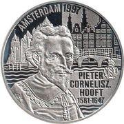 50 Euro - Beatrix (P.C.Hooft) – reverse