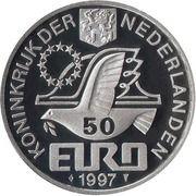 50 Euro - Beatrix (P.C.Hooft) – obverse
