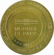 Monnaie de Paris Tourist Token - Château de Thoiry – reverse