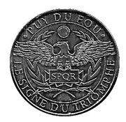 Monnaie de Paris - Puy du Fou (Le signe du triomphe) – obverse