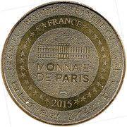 Monnaie de paris - Super Besse Truite et Mouflon – reverse