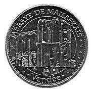 Monnaie de Paris - Vendée (Abbaye de Maillezais) – obverse