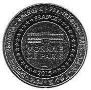 Monnaie de Paris - Vendée (Abbaye de Maillezais) – reverse