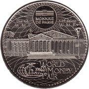 Monnaie de Paris - World Money Fair 2015 – obverse