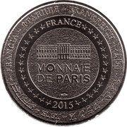 Monnaie de Paris - World Money Fair 2015 – reverse
