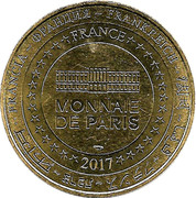 Monnaie de Paris Tourist Token - La Rochelle (Aquarium) – reverse