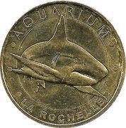 Monnaie de Paris Tourist Token - La Rochelle (Aquarium) – obverse