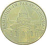 Monnaie de Paris - Basilique de Paray le Monial – obverse