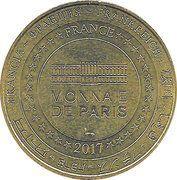 Monnaie de Paris Tourist Token - Le Mans (Circuit automobile) – reverse