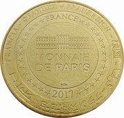 Monnaie de Paris - Lycée militaire Autun – reverse