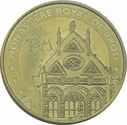 Monnaie de Paris Tourist Token - Monastére royal de Brou – obverse