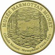 Monnaie de Paris - Musée Marmottan Monet (Nymphéas) – obverse