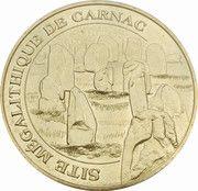 Monnaie de Paris Tourist Token - Site mégalithique de Carnac – obverse