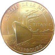 Monnaie de Paris - Cherbourg (La Cité de la Mer - Titanic) – obverse
