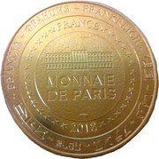 Monnaie de Paris - Cherbourg (La Cité de la Mer - Titanic) – reverse
