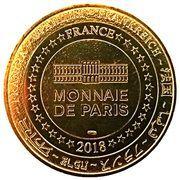 Monnaie de Paris - Futuroscope (les 3 pavillons) – reverse