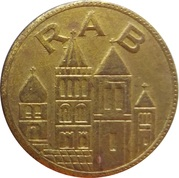 1 Denar - Rapska Fjera (Rab) – reverse