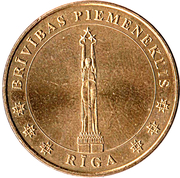 Monnaie de Paris - Riga (Freedom Monument) – obverse