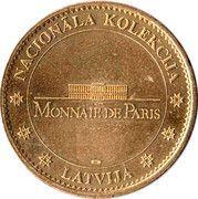Monnaie de Paris - Riga (Freedom Monument) – reverse