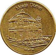 Maltese Heritage Collectors Coin - Mosta Dome – obverse