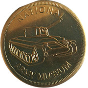 New Zealand Souvenir Coin - National Army Museum – obverse