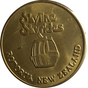 New Zealand Tourist Dollar - Skyline Skyrides – obverse