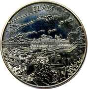 Norwegian Heritage Collectors Coin - Flåm – obverse