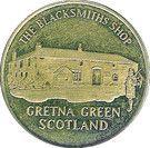 Token - Gretna Green – obverse