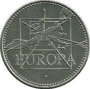 1 Euro (Europa; 15 countries) – obverse