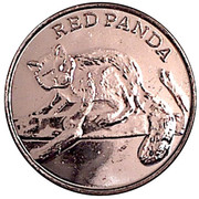 Token - New York Central Park Zoo (Red Panda) – obverse